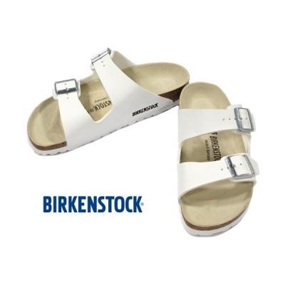 BIRKENSTOCK ARIZONA White ビルケンシュトック アリゾナ ホワイト ビルコフロー ナロー幅 GC051733