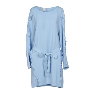 ピンコ PINKO ミニワンピース&ドレス スカイブルー 44 96% レーヨン 4% ポリウレタン ミニワンピース&ドレス