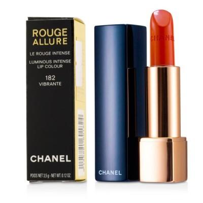シャネル リップスティック Chanel 口紅 ルージュ アリュール ルミナス インテンス リップ カラー #182 Vibrante 3.5g
