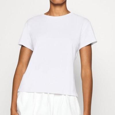ジャストフィーメイル レディース ファッション CASH TEE - Basic T-shirt - white