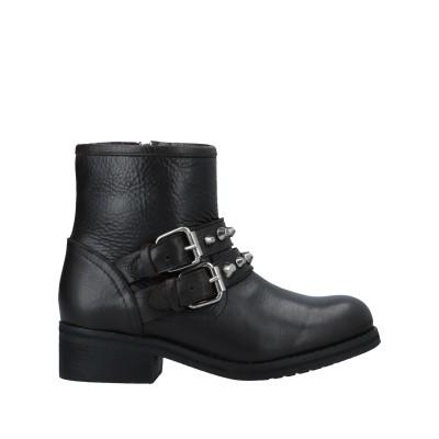 スティーブ マデン STEVE MADDEN ショートブーツ ブラック 6.5 革 ショートブーツ