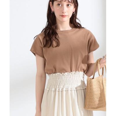 tシャツ Tシャツ Ray BEAMS / サイド スリット フレンチスリーブ Tシャツ