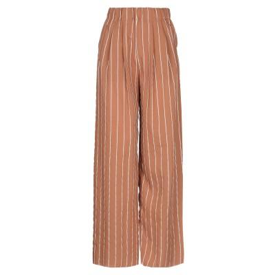 WEILI ZHENG パンツ 赤茶色 M ポリエステル 100% パンツ