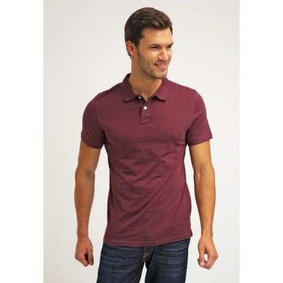 ピアワン ポロシャツ メンズ トップス Polo shirt - bordeaux