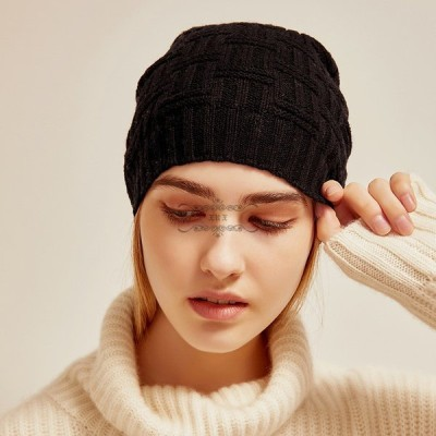 帽子 レディース 防寒 帽子 ニット 秋 冬 サイズ 大きめ 女性 可愛い 高級感 小顔 ファッション小物 ギフト