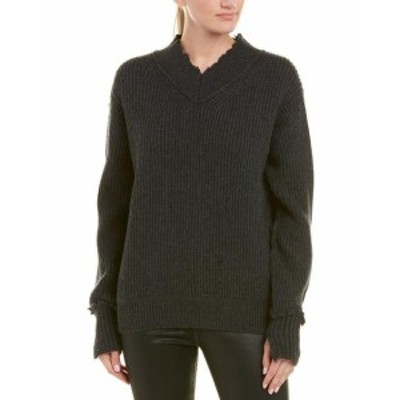 Helmut Lang ヘルムートラング ファッション トップス Helmut Lang Distressed Wool Pullover