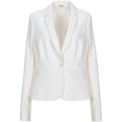 リュー ジョー LIU •JO テーラードジャケット ホワイト 44 88% ポリエステル 12% ポリウレタン テーラードジャケット