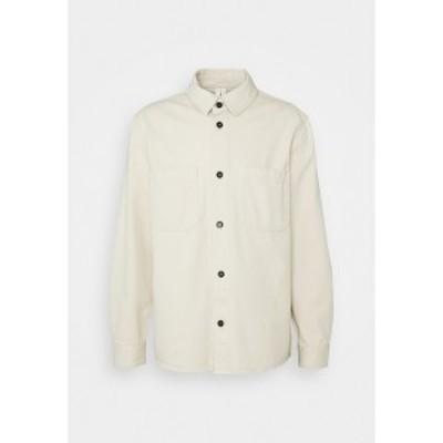 アーケット メンズ シャツ トップス Shirt - white white