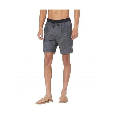 "Billabong ビラボン メンズ 男性用 ファッション ショートパンツ 短パン Crossfire Elastic 19"" Hybrid Shorts - Black Camo"