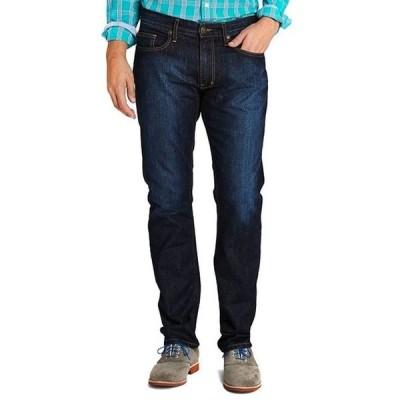 ジョンストンアンドマーフィー メンズ デニムパンツ ボトムス Slim-Fit Stretch Denim Jeans
