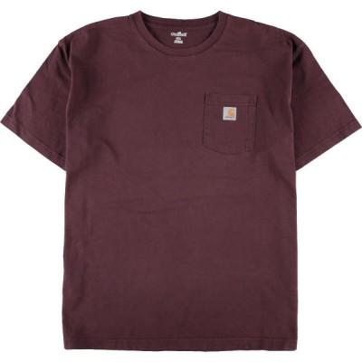 カーハート Carhartt ワンポイントロゴポケットTシャツ メンズXXXL /eaa076824