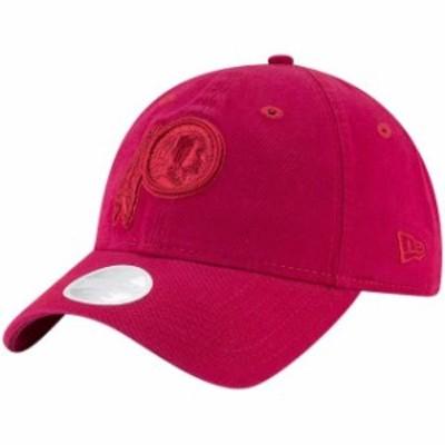 New Era ニュー エラ スポーツ用品  New Era Washington Redskins Womens Burgundy Dark Rose Core Classic 9TWENTY Adjustable Hat