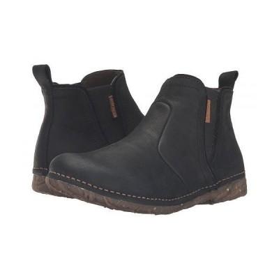 El Naturalista エルナチュラリスタ レディース 女性用 シューズ 靴 ブーツ チェルシーブーツ アンクル Angkor N959 - Black
