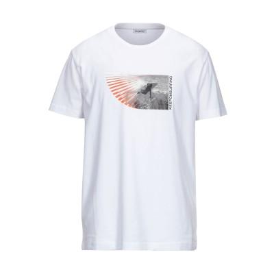 ビッケンバーグ BIKKEMBERGS T シャツ ホワイト S コットン 96% / ポリウレタン 4% T シャツ