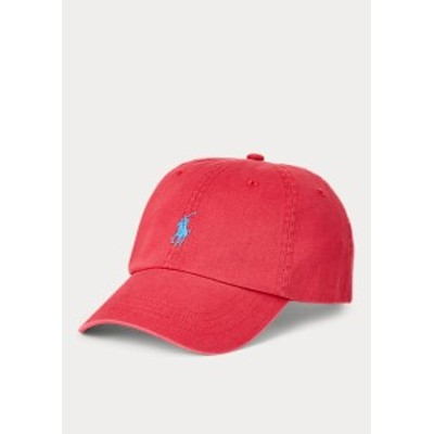 ラルフローレン キャップ Polo Ralph Lauren Cotton Chino Baseball Cap 帽子 Nantucket Red