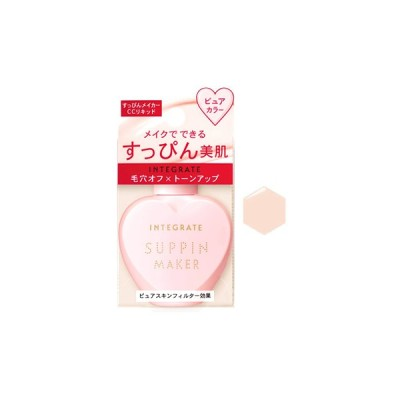 資生堂 インテグレート すっぴんメイカー CCリキッド ピュアカラー SPF30 PA+++ (25mL) 化粧下地 INTEGRATE