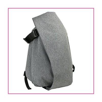 cote&ciel Isar Large Eco Yarn Backpack Black Melange One Size並行輸入品
