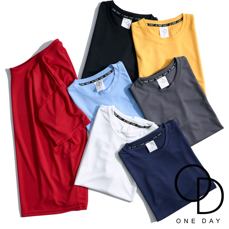 ONE DAY 台灣製 169 排汗衫 吸濕排汗 吸排 運動上衣 吸排T T恤 素T 短袖上衣 寬鬆短袖