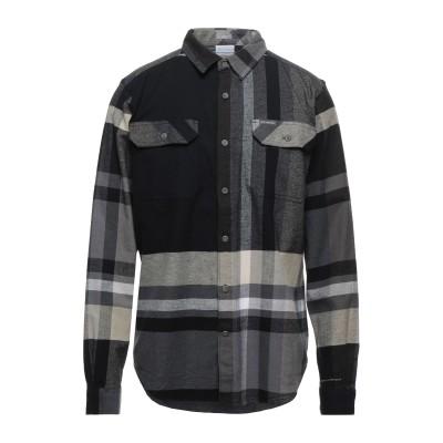 コロンビア COLUMBIA シャツ ブラック S コットン 98% / ポリウレタン 2% シャツ