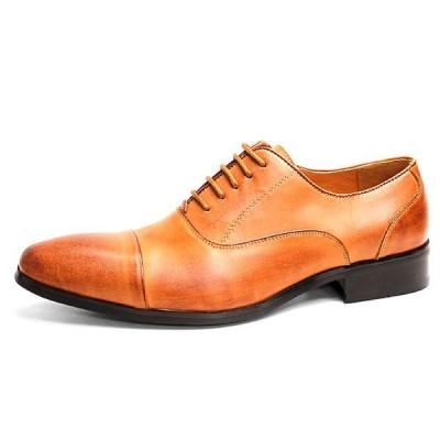 ビジネスシューズ 日本製 本革 内羽根 ストレートチップ 7761LBR サラバンド メンズ 革靴 紳士 靴