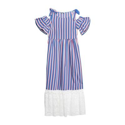 リュー ジョー LIU •JO ロングワンピース&ドレス ブルー 38 レーヨン 87% / ナイロン 13% / コットン ロングワンピース&ドレス