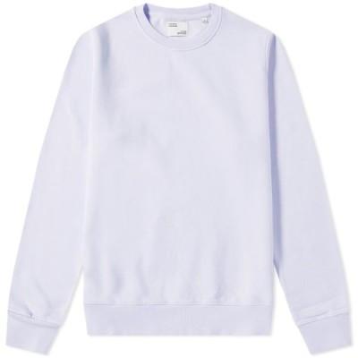 カラフルスタンダード Colorful Standard メンズ スウェット・トレーナー トップス Classic Organic Crew Sweat Soft Lavender