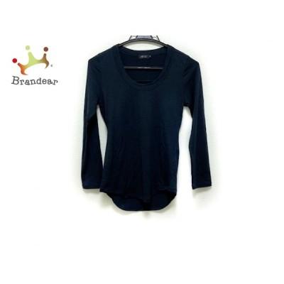 エムフィル M・Fil 長袖セーター サイズ36 S レディース - ダークネイビー クルーネック 新着 20200625
