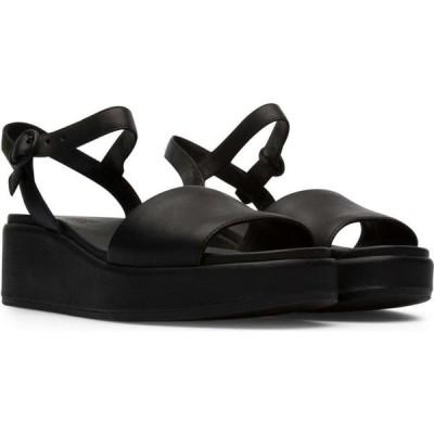 カンペール Camper レディース サンダル・ミュール シューズ・靴 misia 2-strap sandal Black