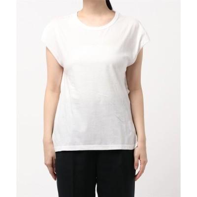 tシャツ Tシャツ 【W】【R JUBILEE(アールジュビリー)】Back-open Layerd Tee