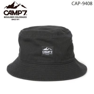 CAMP7 ツイルハット 帽子 メンズ レディース ロゴネーム 綿 CAP-9408