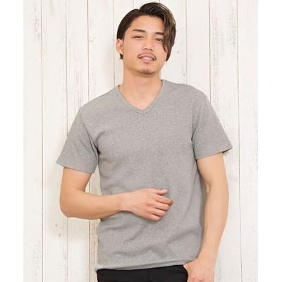 tシャツ Tシャツ 【選べる3ネック】スパンテレコ半袖Tシャツ / CAJP19-04