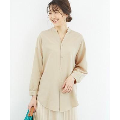 (ROPE' PICNIC/ロペピクニック)裾スリットチュニックシャツ/レディース ベージュ系(28)