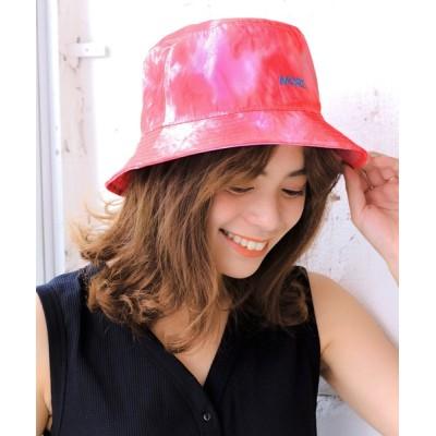 14+(ICHIYON PLUS) / タイダイMORE刺繍バケットハット WOMEN 帽子 > ハット