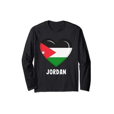 ヨルダン国旗シャツ | ヨルダン 長袖Tシャツ