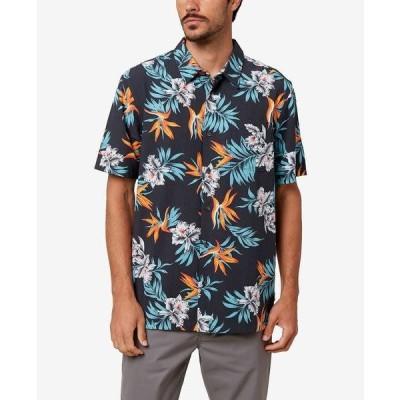 オニール シャツ トップス メンズ Men's Departure Button-Up Shirt Black