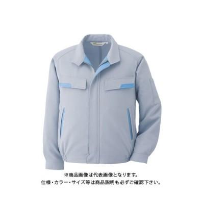 ミドリ安全 静電気帯電防止作業服 男女ペアブルゾン シルバーグレー サイズ3L VE71 UE 3L