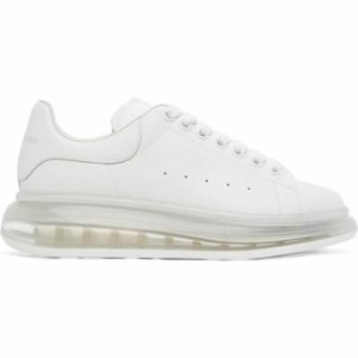 アレキサンダー マックイーン Alexander McQueen メンズ スニーカー シューズ・靴 White Transparent Sole Oversized Sneakers White
