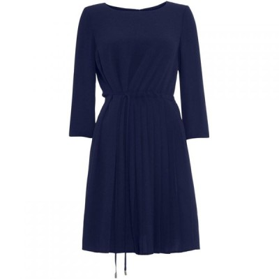 フェーズ エイト Phase Eight レディース ワンピース ワンピース・ドレス Michelle Side Pleat Dress Indigo