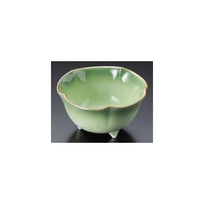 緑彩三足小鉢/大きさ・10.5×5.5cm