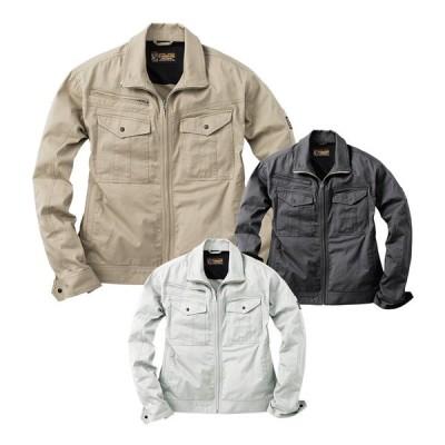 EVENRIVER イーブンリバー  SR5007 長袖ブルゾン 春夏用 メンズ 作業服 作業着 ジャンパー ジャケット