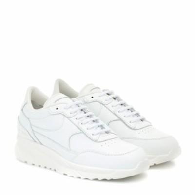 コモン プロジェクト Common Projects レディース スニーカー シューズ・靴 Track Classic leather sneakers White