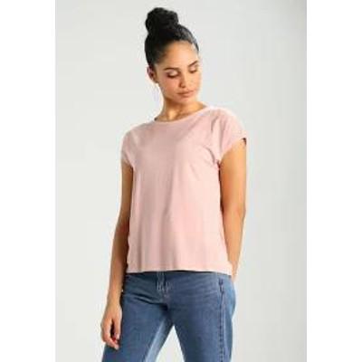 Vero Moda レディーストップス VMAVA PLAIN - Basic T-shirt - misty rose misty r