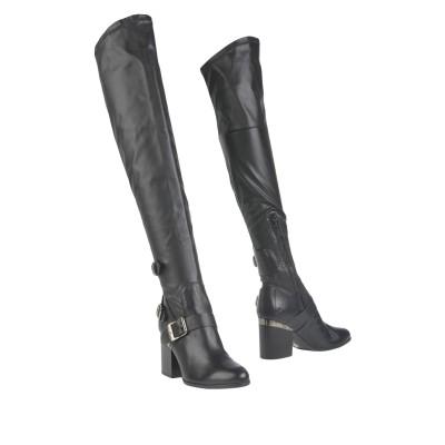 ホーガン HOGAN ブーツ ブラック 34.5 革 / 紡績繊維 ブーツ