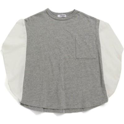 """セール 「50%OFF」 半袖Tシャツ """"オトナト"""" 子供服 サークルTシャツ グレー(GY)"""