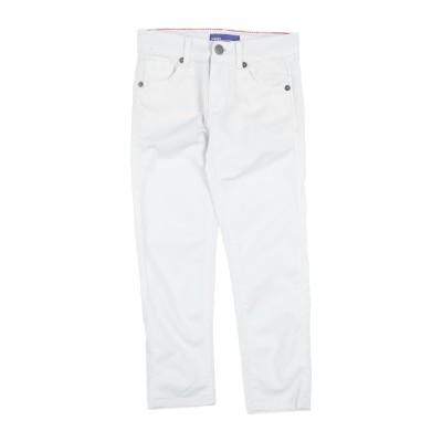 ガウディ GAUDÌ パンツ ホワイト 5 コットン 98% / ポリウレタン 2% パンツ