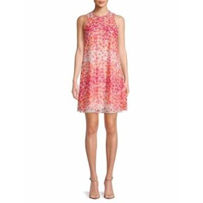 カルバンクライン レディース ワンピース Floral-Print Sleeveless Dress