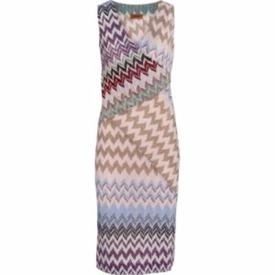 ミッソーニ Missoni レディース ワンピース ミニ丈 ワンピース・ドレス zig-zag knit minidress SMU