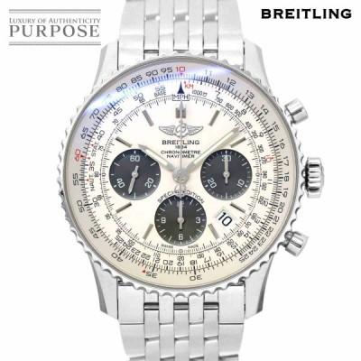 ブライトリング BREITLING ナビタイマー01 日本限定 AB0120 クロノグラフ メンズ 腕時計 デイト シルバー 文字盤 オートマ 自動巻き ウォッチ