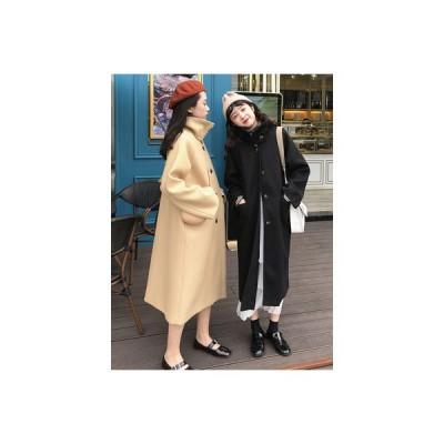 【送料無料】韓国風 冬 気質 着やせ 手厚い ロングスタイル ウールのコート 女 何 | 346770_A64246-7570402