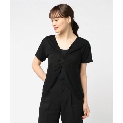 tシャツ Tシャツ TIGORA/BEAMS DESIGN 2WAYドレープカットソー